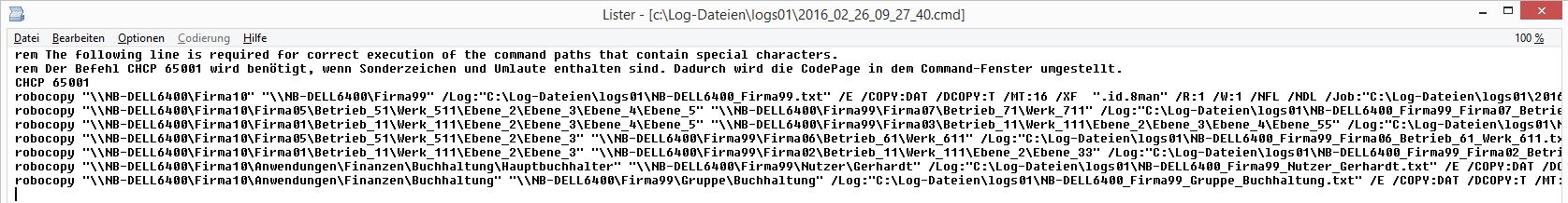 cmd-Datei