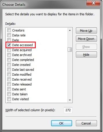 Data Accessed