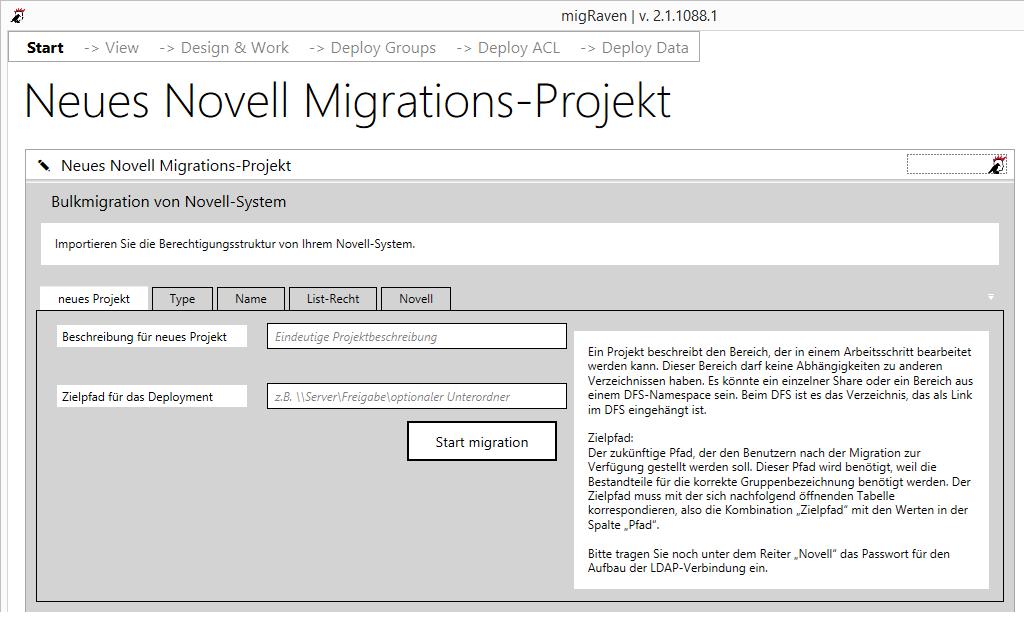 Novell-Migration