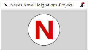 Novell-Migration starten